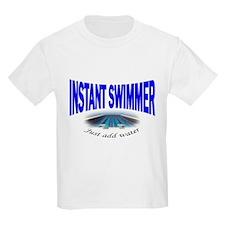 Instant Swimmer Kids T-Shirt