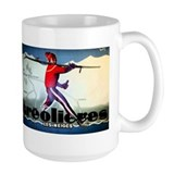 French Alps Skiing Coffee Mug