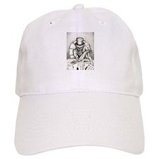 Aces and Eights black and whi Baseball Cap
