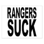 Rangers Suck Small Poster