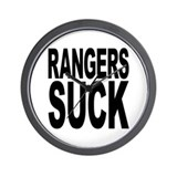 Rangers Suck Wall Clock
