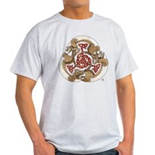 Celtic Ferret Triskel T-Shirt