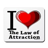 Love the Law of Attraction Mousepad