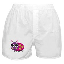 "Cute Frog & ""Think Green"" Boxer Shorts"