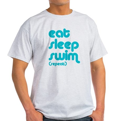 Eat, Sleep, Swim Light T-Shirt