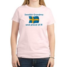 Proud Swedish Grandma T-Shirt