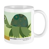 T is for Turtle Small Mug