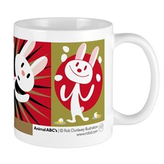 R is for Rabbit Mug