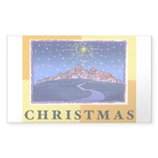 Christmas Stickers (Rectangle 50 pk)