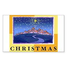 Christmas Stickers (Rectangle 50 pk)