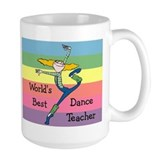 Dance teacher Large Mug (15 oz)