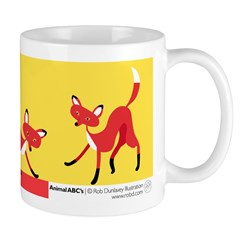 F is for Fox Mug