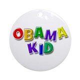 Obama kid Ornament (Round)