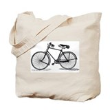 Old Bike (M) Tote Bag