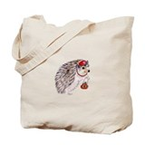 Fashionista Hedgie Hedgehog Tote Bag