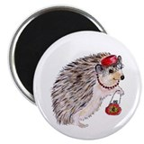"Fashionista Hedgie Hedgehog 2.25"" Magnet (10 pack)"