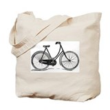 Old Bike (F) Tote Bag