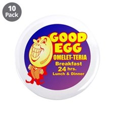 "Good Egg Diner 3.5"" Button (10 pack)"