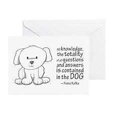 Kafka Dog Greeting Cards (Pk of 20)