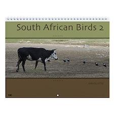 South African Birds 2 Wall Calendar
