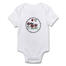 If I can love you and you can Infant Bodysuit