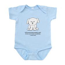 Loved an Animal Infant Bodysuit