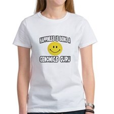"""Happiness..Genomics Guru"" Tee"
