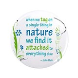 Nature Atttachment 3.5&quot; Button (100 pack)
