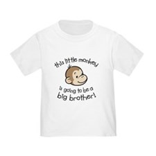 Big Brother to be - Monkey Face T