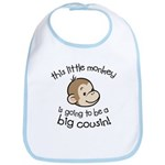 Big Cousin to be - Monkey Face Bib