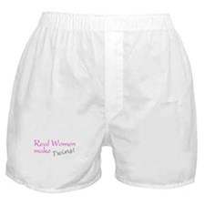 Real Women Make Twins Boxer Shorts