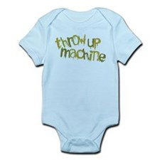 Throw Up Machine Infant Bodysuit