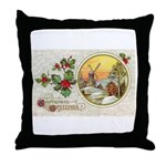 Dutch Christmas Throw Pillow