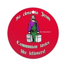 Communion Tastes Like Leftovers