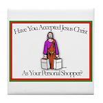 Personal Shopper Tile Coaster