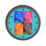 Animal Graphics Wall Clock