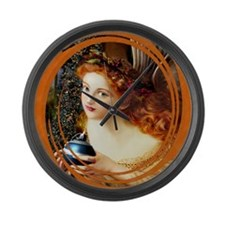 Angel Blessings Large Wall Clock