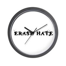 Erase Hate Wall Clock