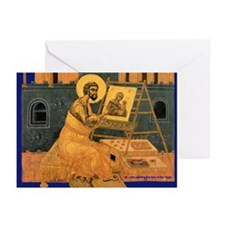 Icon of St. Luke - Greeting Cards (Pk of 10)