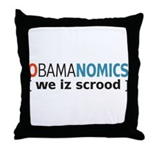 Anti - Obama Throw Pillow