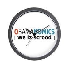Anti - Obama Wall Clock