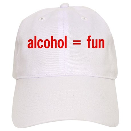 Alcohol = Fun Cap