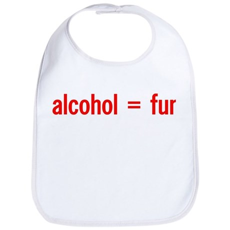 Alcohol = Fun Bib