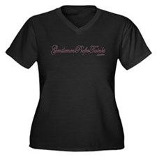 Gentlemen Prefer Twinks Women's Plus Size V-Neck D