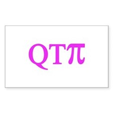 QTPi Rectangle Decal