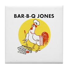 BBQ Jones Tile Coaster