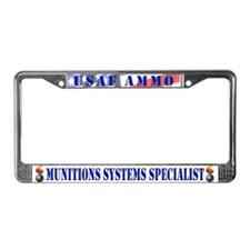 Cute Level License Plate Frame
