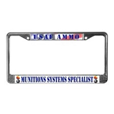 Unique Usaf License Plate Frame