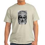 Greek Philosophy: Aristotle Ash Grey T-Shirt