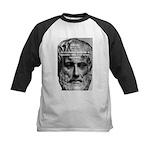 Greek Philosophy: Aristotle Kids Baseball Jersey